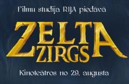 """Ar prieku informējam, ka no šī gada 29.augusta uz kinoekrāniem tiks izrādīta jaunākā animācijas filma pasaka bērniem """"ZELTA ZIRGS"""""""